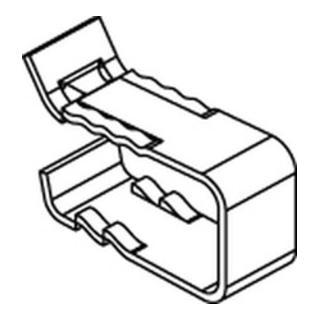 Lindapter GIT-Rostkl. GF 30x30 St., galvanisch verzinkt S