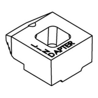Lindapter GT B KM 20 galv. verzinkt, kurz * S