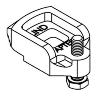 Lindapter GT D2 M 10 galv. verzinkt S
