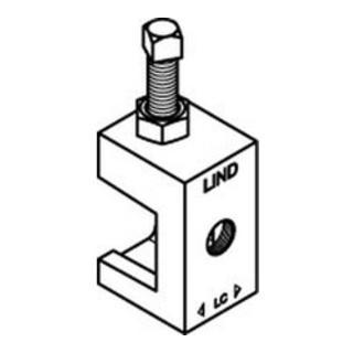 Lindapter GT LC M 6 galv. verzinkt S