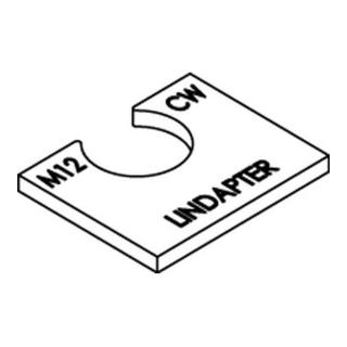 Lindapter St. CW M 12 galv. verzinkt S