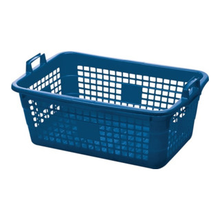 Lockweiler Tragekorb PE blau 85l 800x535x300mm