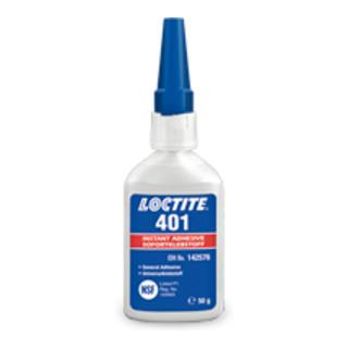 Loctite Sofortklebstoff 401 50 g