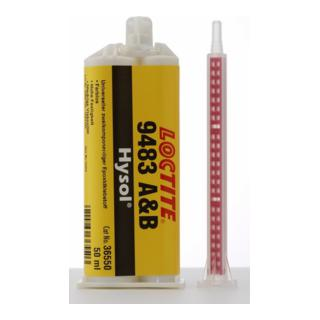 Loctite Typ 9483A/B Epoxidklebstoff 2:1 universell hochtransparent 50ml