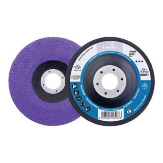 LUKAS Kompaktschleifteller Purple Grain Single D115mm K.36 gekr.CO Bohr.22,23mm