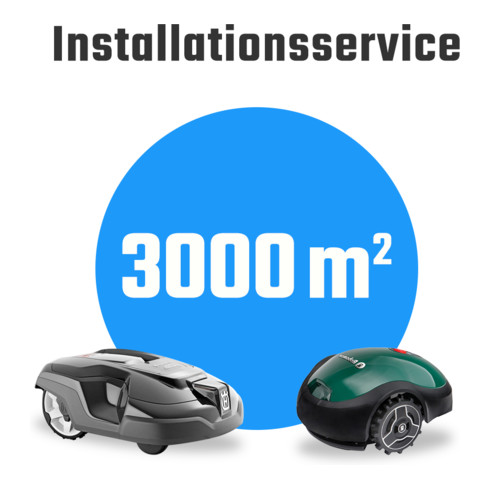 Mähroboter-Installationsservice Paket L bis 3000m²