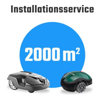 Mähroboter-Installationsservice Paket M bis 2000m²