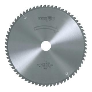 Sägeblatt HM 250 x 1,8/2,8 x 30 mm, Z 68, FZ/TZ 092467