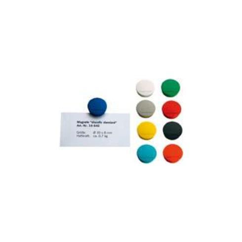 Magnet Basic gelb D.30xH.8mm Haftkraft 0,7kg