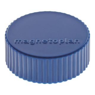Magnet Super dunkelblau D.34xH.13mm Haftkraft 2kg
