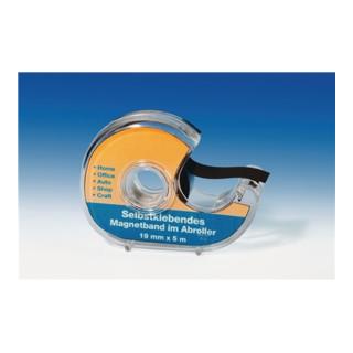Magnetklebeband im Spender B.19mm L.5m