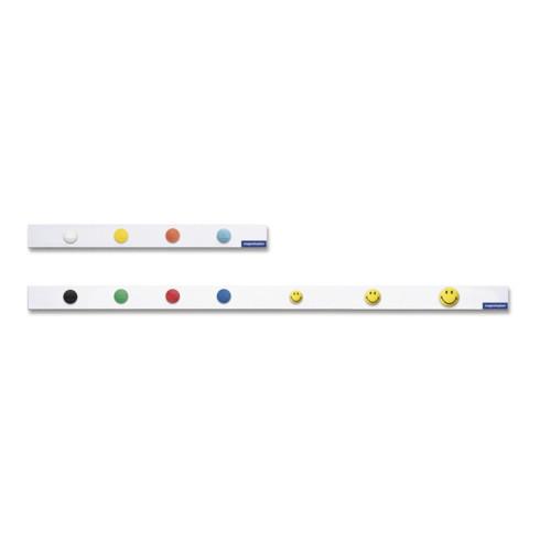 Magnetleiste L.1000xB.50mm weiß selbstklebend MAGNETOPLAN