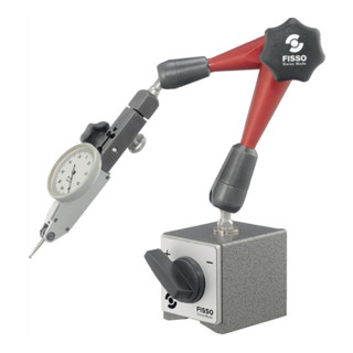 Magnetmessstativ H.390mm Haftkraft 750N Aktionsradius 280mm