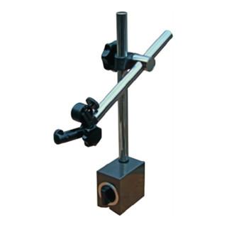 Magnetmessstativ R. 180mm Gesamt-H. 285mm Haftkraft 600 N