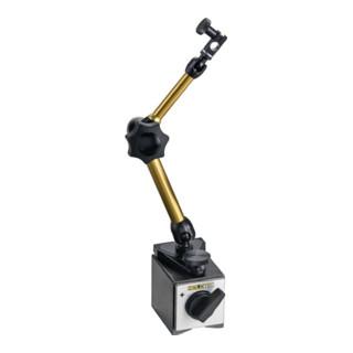 Magnetmessstativ R. 272mm Gesamt-H. 327mm Haftkraft 800 N HOLD TEC