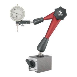 Magnetmessstativ STRATO-LINE R. 330mm Gesamt-H. 444mm Haftkraft 900 N FISSO