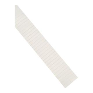 Magnetoplan ferrocard-Etiketten, weiß, 80 x 15 mm