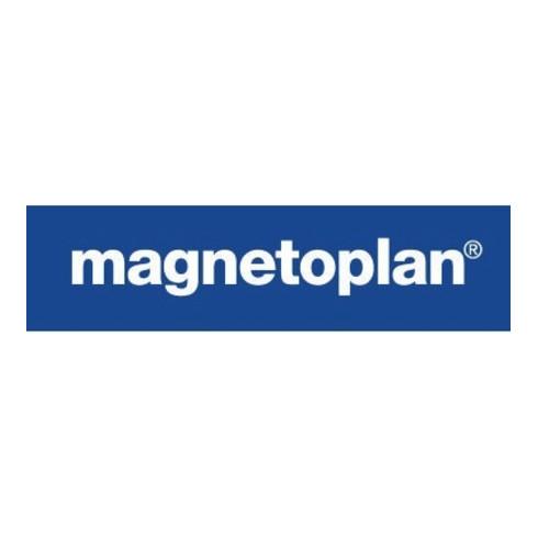 magnetoplan Magnet Discofix Mini 1664600 20mm weiß 10 St./Pack.