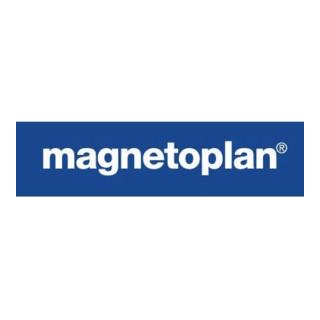 magnetoplan Magnet Ergo Large 1665000 34mm weiß 10 St./Pack.