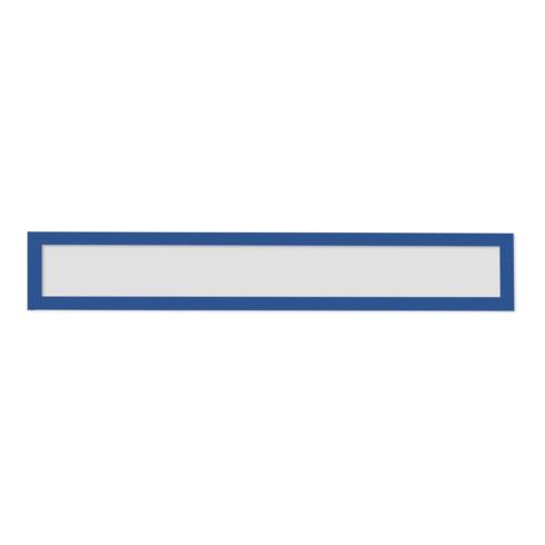 Magnetoplan magnetofix-Magnetrahmen Topsign, 5 Stück, rot, A5 quer/A4 hoch 232 x 52 mm