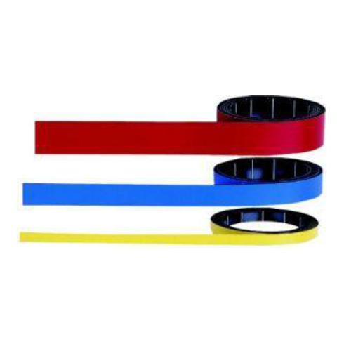 Magnetoplan magnetoflex-Band, weiß, 5 mm x 1 m