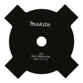 Makita 4-Zahnschlagmesser 230x25,4mm (B-14118)