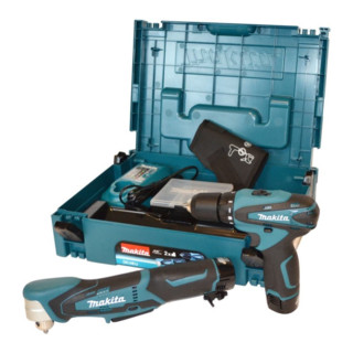 Makita 4436738 Combo Kit 10.8 V Mak-Pack DF330D+DA330