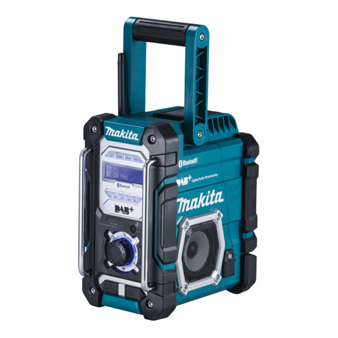 Makita Akku-Baustellenradio DMR112, 7,2 V - 18 V, mit DAB+ und Bluetooth