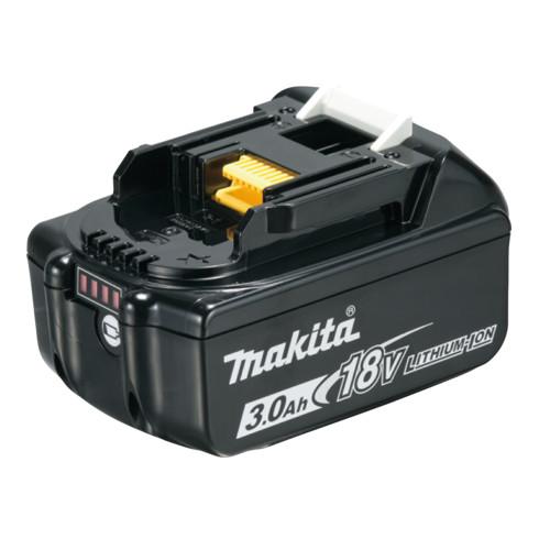 Makita Akku-BL1830B Li, 18 V / 3 Ah, mit Akku-Ladestandsanzeige