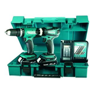 Makita Akku-Maschinen-Set DLX2020Y 18 V (DHP453 + DTD146)