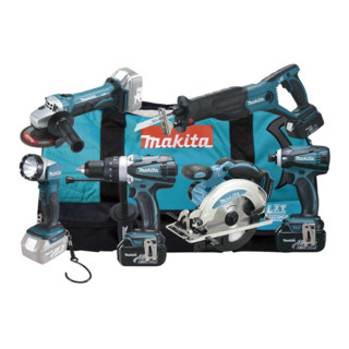 Makita Akku Maschinen Set DLX6011X4