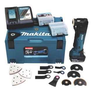 Makita Akku-Multifunktionswerkzeug 18,0 V/5,0 Ah DTM51RT1J3