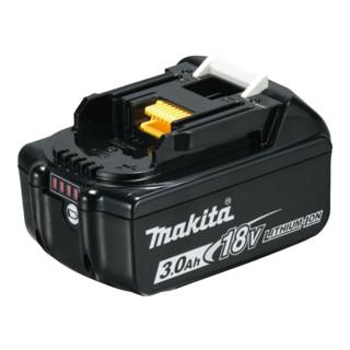 Makita Akkugeräteset 18V DLX2221JX2 Akku-Schlagbohrschrauber DHP483 und Akku-Schlagschrauber DTD155 mit 2 Akkus 3.0Ah
