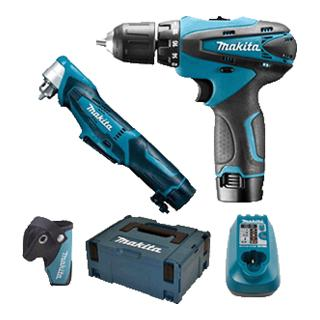 Makita Combo Kit 10.8 V MACPAK DF330D+DA330 4436738