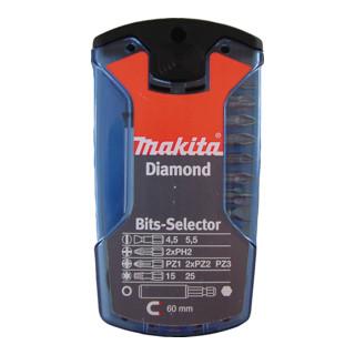 """Makita DIAMANT BIT-BOX 1/4""""  11-TL. (P-38750)"""
