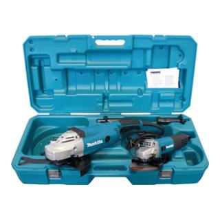 Makita DK0052G Winkelschleiferset (GA9020R + 9558NBR im Koffer)
