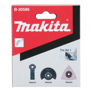 Makita Fliesen-Set 1 3Stk (B-30586)