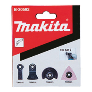 Makita Fliesen-Set 2 4Stk (B-30592)