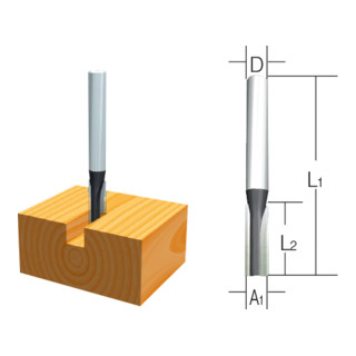 Makita FRAESER NUT  3mm WA8  1S (D-10001)