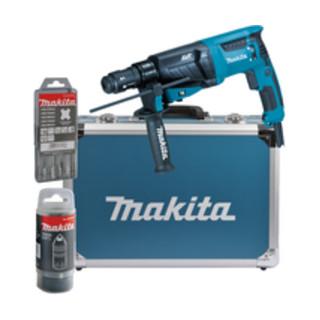 Makita Kombihammer für SDS-PLUS 26 mm im Alukoffer HR2631FT13