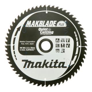 Makita MAKBLADE+Sägeblatt 260x30x70Z (B-32530)