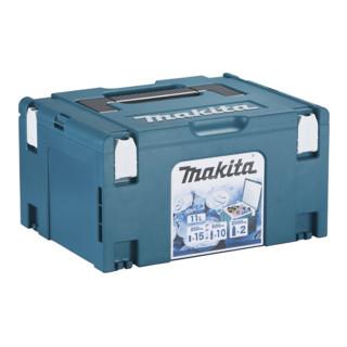 Makita MAKPAC-Kühlbox Gr. 3 mit Isolierauskleidung, Volumen 11 l