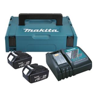 Makita Power-Source Kit 2x 3,0 Ah 196693-0 mit Schnellladegerät