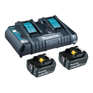 Makita Power Source Kit Li 18,0V 5Ah inkl. Doppelladegerät