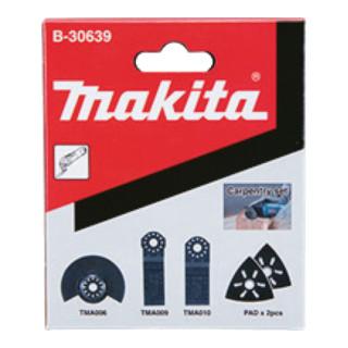 Makita Schreinerset 5Stk (B-30639)
