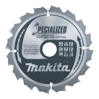 Makita Specialized Sägeb.190x30x16Z (B-33059)
