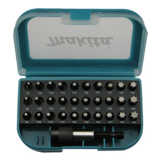 Makita TORX BIT SET 31-TL. (P-73352)