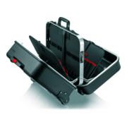 Mallette à outils « BIG Twin Move » Électro, avec roulettes intégrées et chariot porte-valise télescopique, vide Knipex