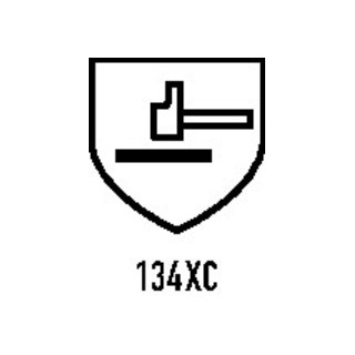 Manchettes HyFlex 70-110 254 mm jaune 100 % Kevlar EN 388, EN 407 cat. III 12 un
