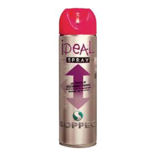 Markierungsspray Ideal 500ml Leuchtpink für alle Untergründe